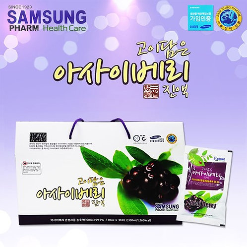 Acai berry juice -  30 pouches (Samsung pharm health care)