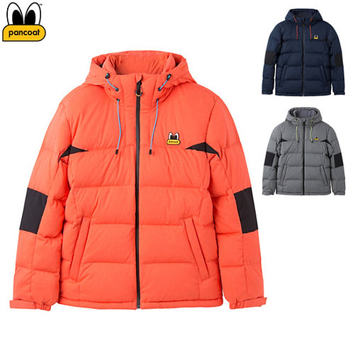 Pancoat Dynamic goose down coat Orange