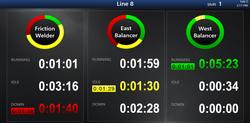 1line downtime donut racetracks