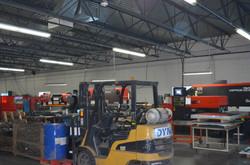 Metal Fabrication Area