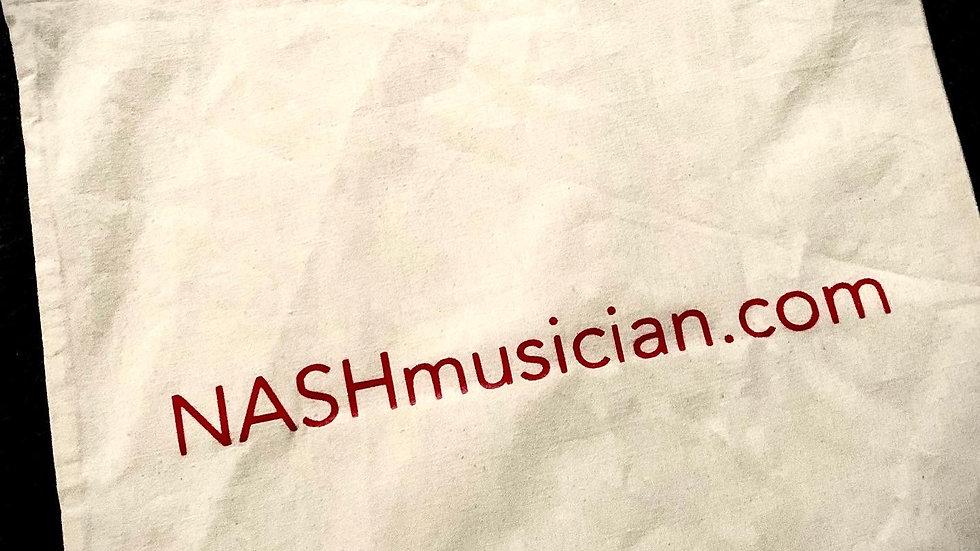 NASHmusician Cotton Tote Bag