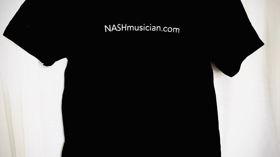 NASHmusician.com T-shirt