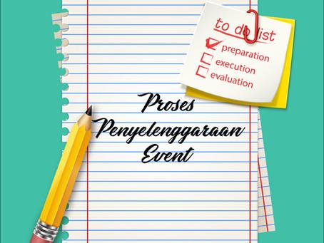 Proses Penyelenggaraan Event