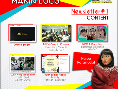 NEWSLETTER #1 : MAKIN SERU MAKIN LUCU