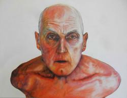 Bound Man, acrylic on canvas, 150cm x 120cm, 2015
