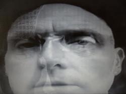Blurred man (self portrait), still from Blurred 2 video, 2015