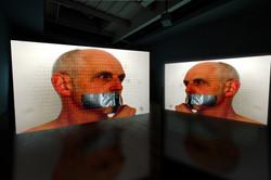 Boundaries video stills, Projection mock-up, 2015
