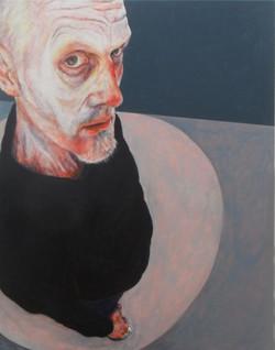Suppression 2, acrylic on canvas, 120cm x 150cm, 2013