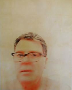 Paul (blurred), photo-print on canvas, 120cm x 150cm, 2015