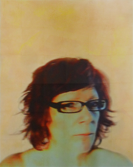 Brenda (blurred), photo-print on canvas, 120cm x 150cm, 2015