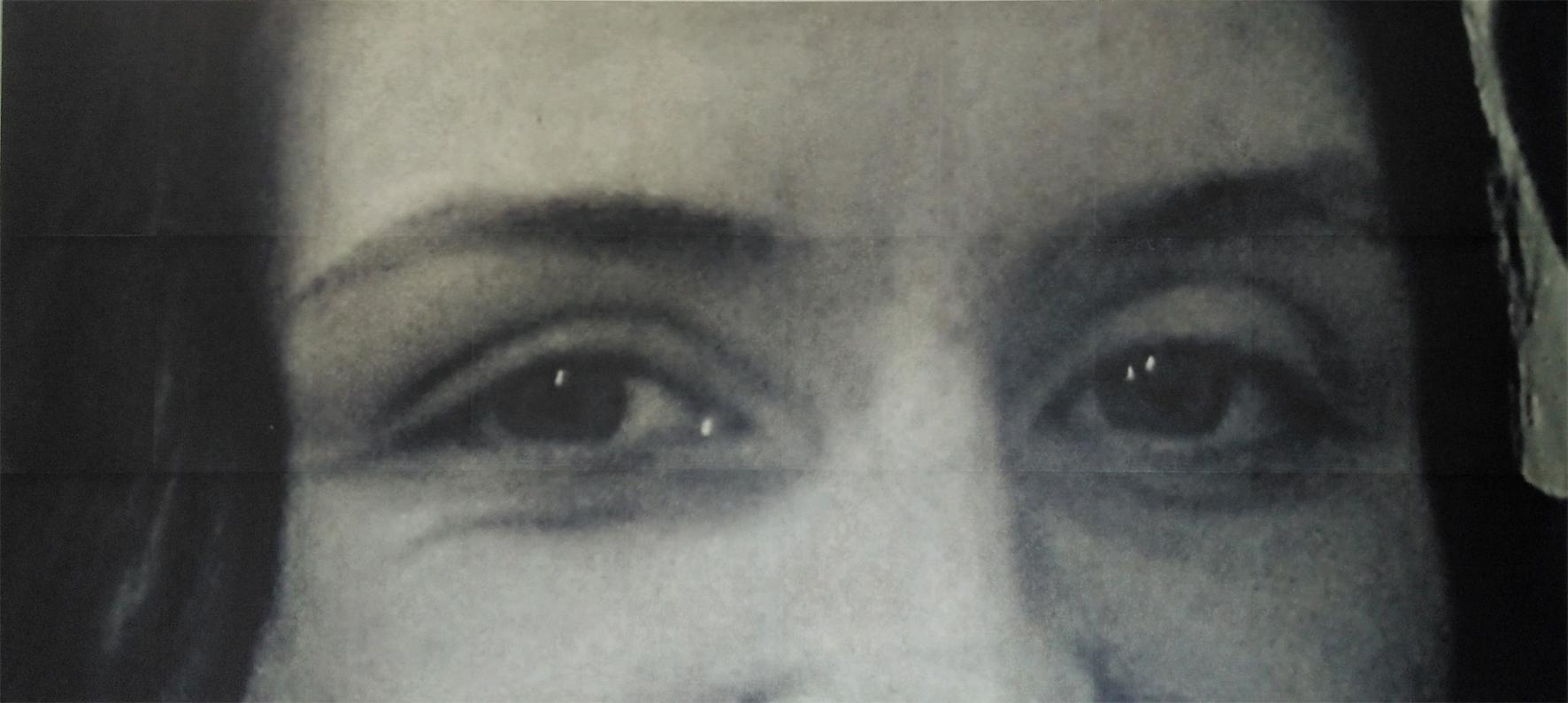 Rachel, photo-print on canvas, 170cm x 75cm, 2020