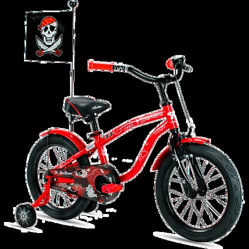 "Bicicleta Turbo Bucanero Rodada 16"" / 1 Vel."