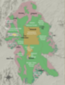 Greater Yellowstone Area Federal Lands Map