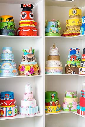 loja de locação de bolos fakes