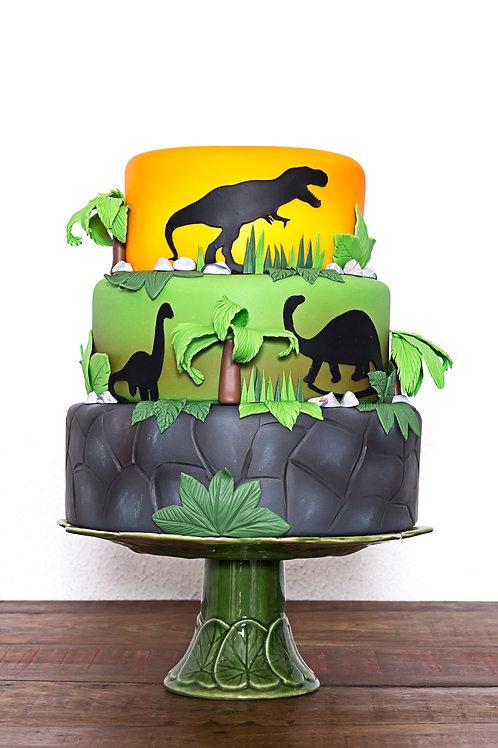 Bolo Dinossauros