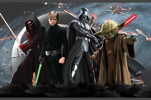 Tecido sublimado Star Wars
