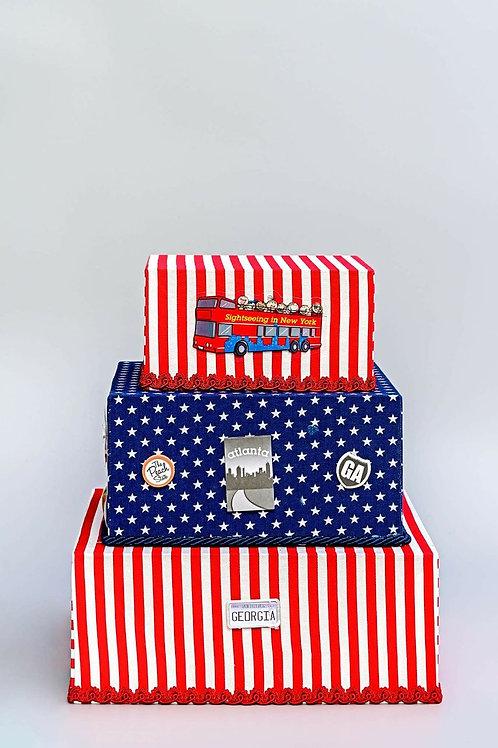 Bolo caixa USA