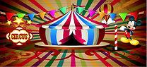 painel mickey circo