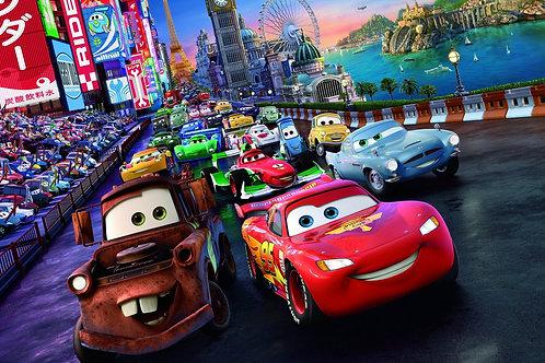 Tecido sublimado carros Disney