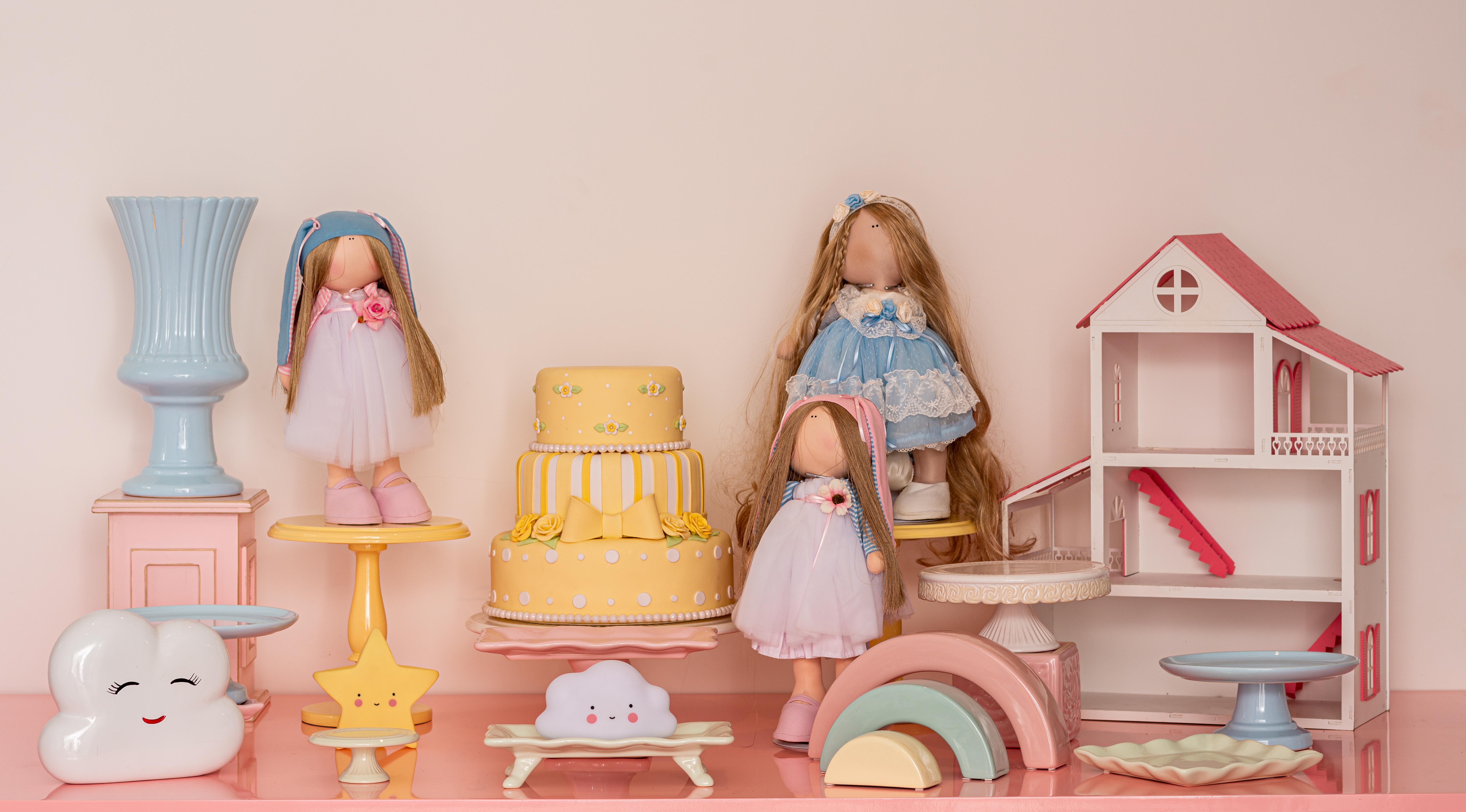kit casinha de bonecas