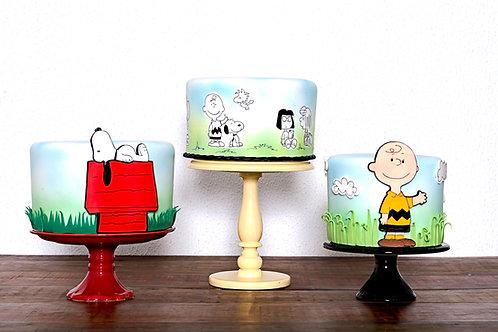 Trio bolo Snoopy
