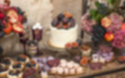 catering hochzeit (dessertbuffet)