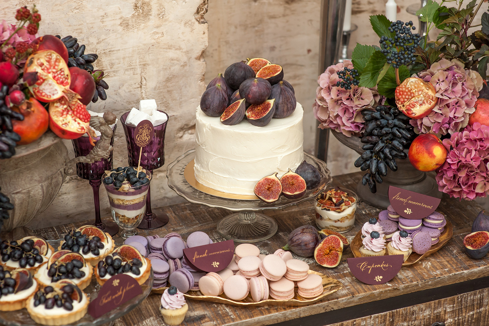 Mariage pourpre Themed