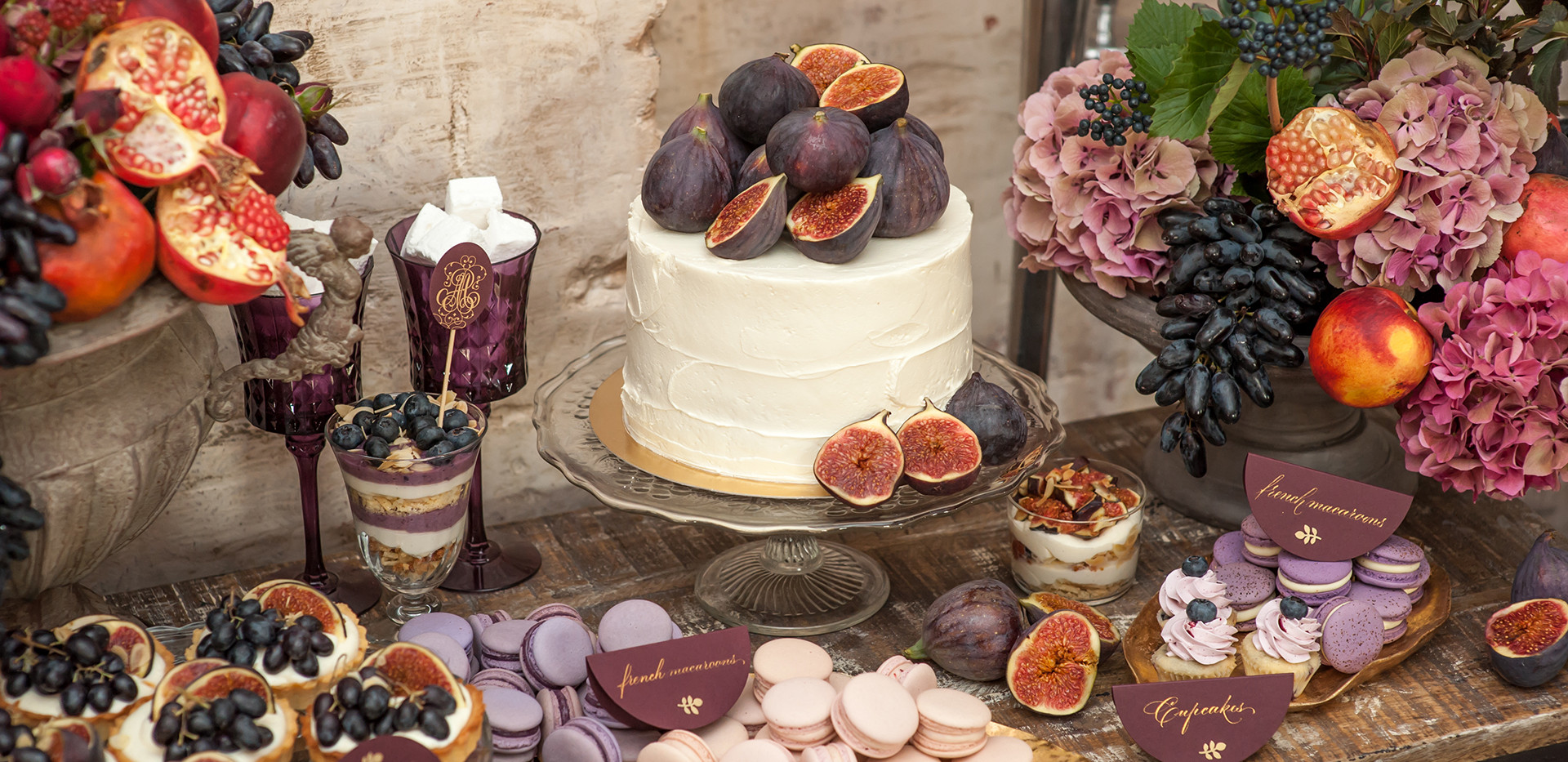 Purple Themed Wedding