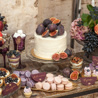 Purple themed anniversary party