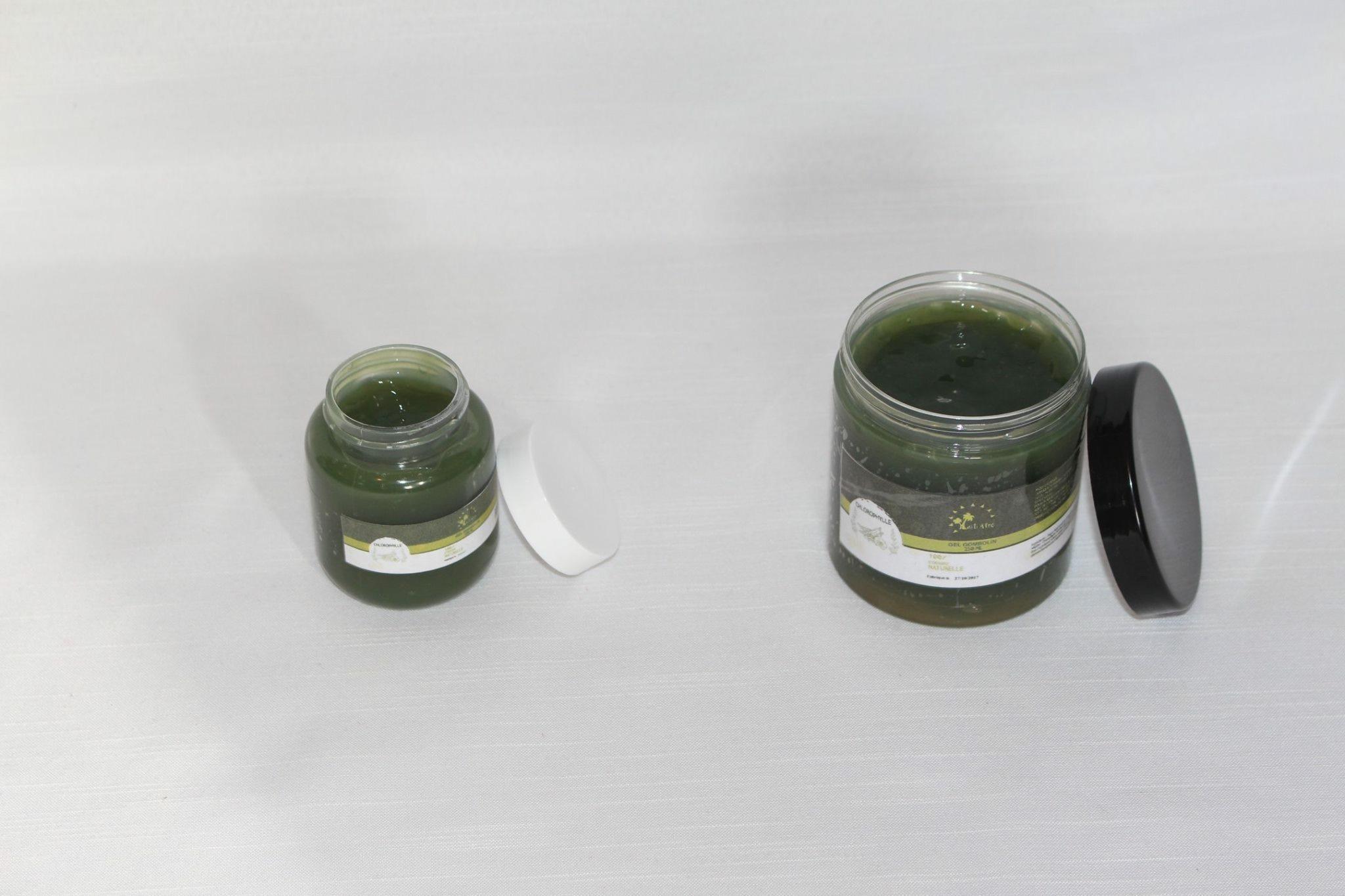 Gel Chlorophylle | Gel coiffant