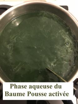 Phase aqueuse Pousse activée