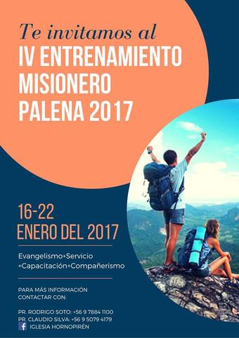IV Entrenamiento Misionero