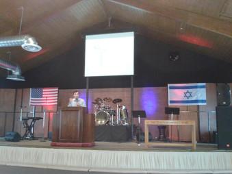 Visita del Pastor Oscar Martínez a Usa