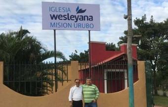Pastor Carlos Martinez viaja a Bolivia