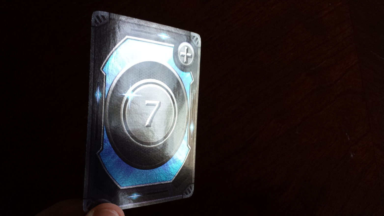 Luckless Seven Foil Card Front.jpg