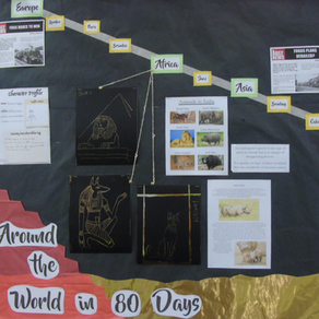 Our First Theme of the Year: Around the World in 80 Days