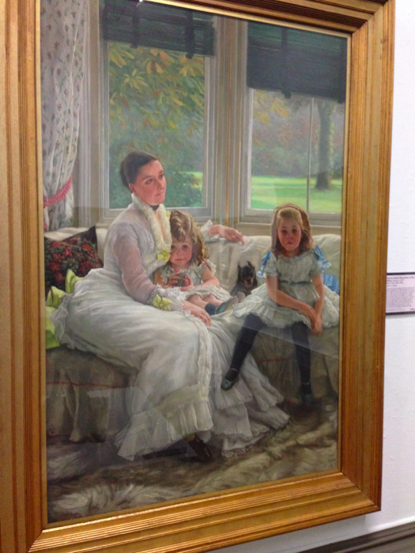 Painting in the Walker Art Gallery