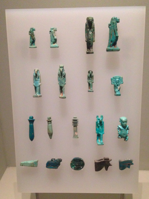 Collection of amulets from Egypt