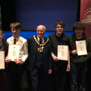 Hope Corner Student collects his Bronze DofE Award