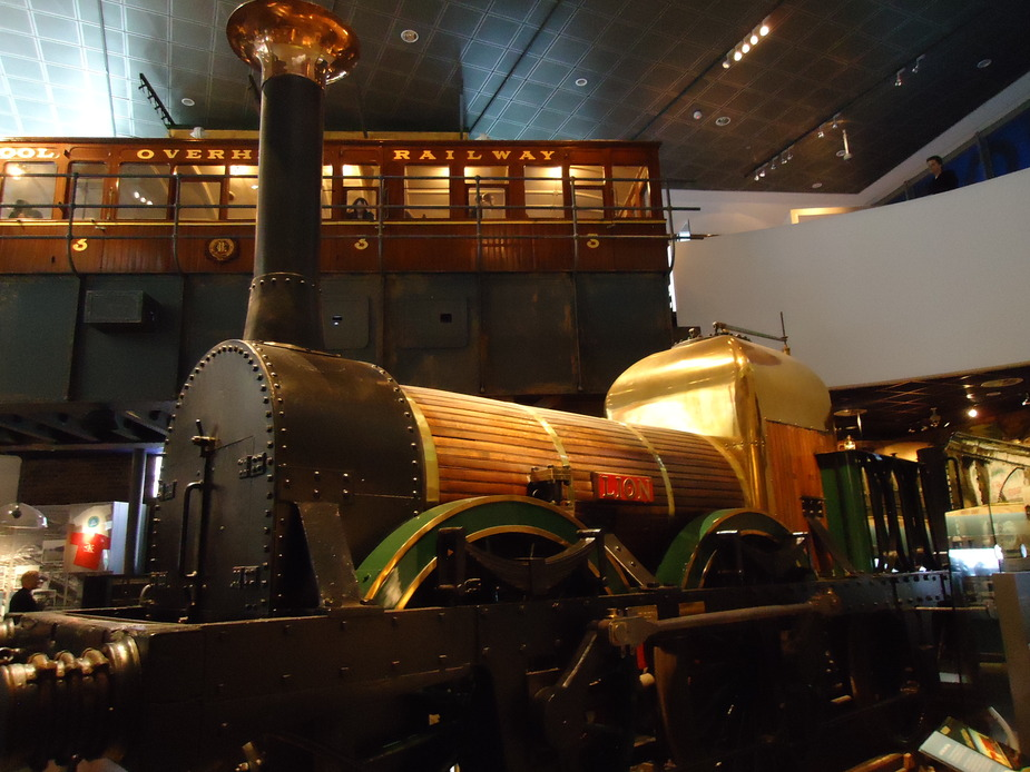 The Lion locomotive
