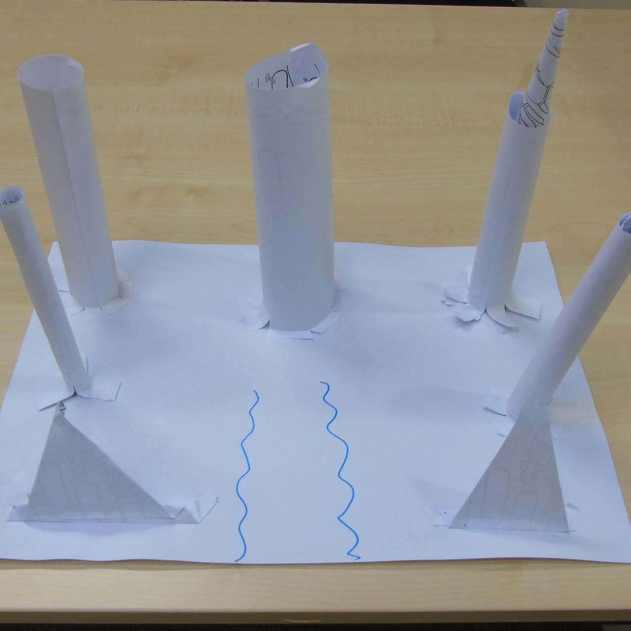 Taj Mahal inspired building design