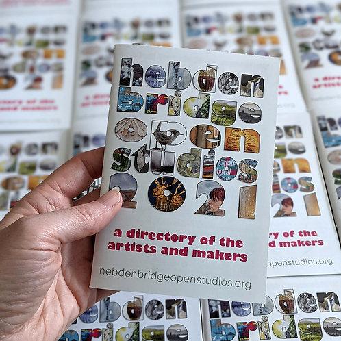 Hebden Bridge Open Studios booklet and map