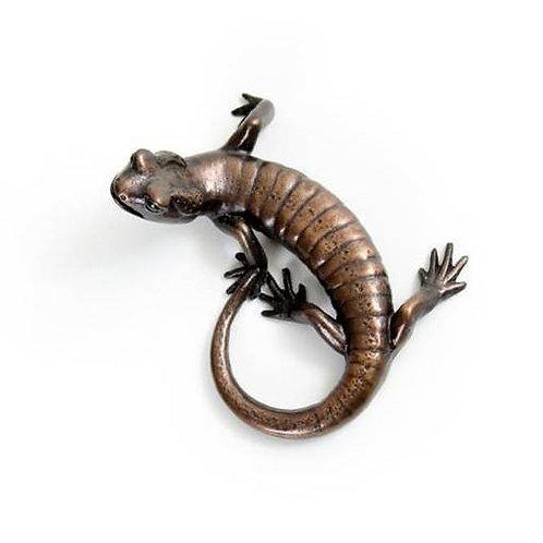 fire salamander - bronze
