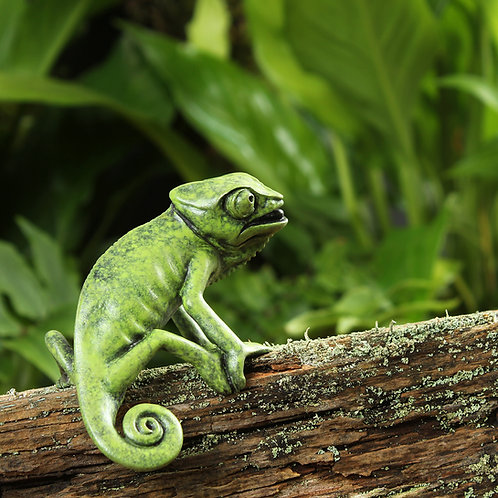 greeting card - chameleon (code P07)