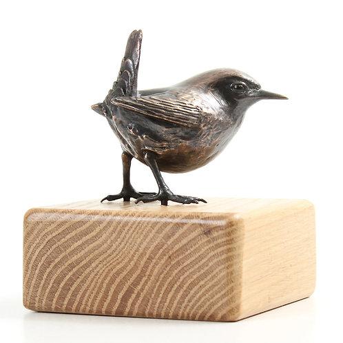 wren, female  - limited edition bronze