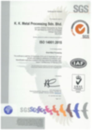 ISO 14001-2015 (UKAS) (25sep2018 - 24sep