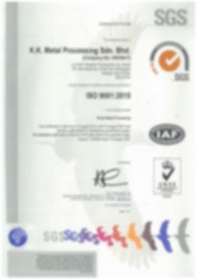 ISO 9001-2015 (UKAS) (15Aug2019-14Aug202