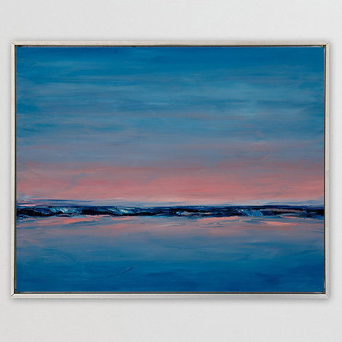"""After the Sunset, 40""""x56"""""""