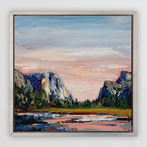 "Yosemite, 12""x12"""