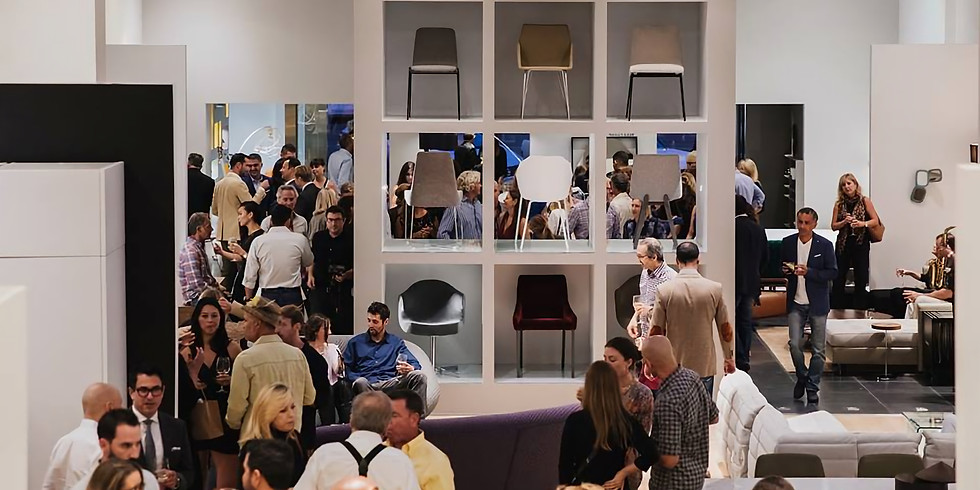 Krista Schumacher Collection Launch at Ligne Roset